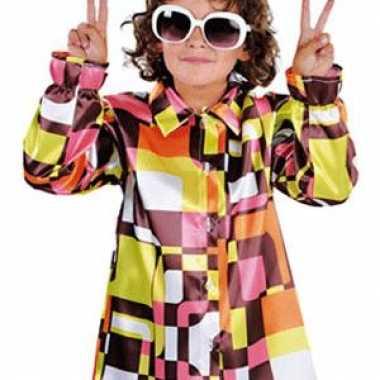 70s overhemd voor kinderen carnaval