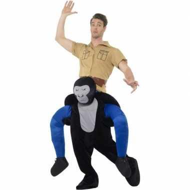 Apenpak gorilla voor volwassenen carnaval