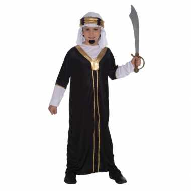 Arabieren kostuum voor kids zwart carnaval