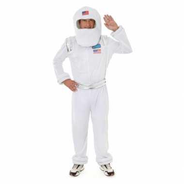 Astronauten outfit met helm voor carnaval