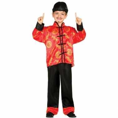 Aziatische verkleed kledingen voor kinderen carnaval