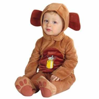 Baby kostuum van een beer voor carnaval