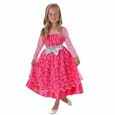 Barbie luxe verkleedjurk meisjes voor carnaval