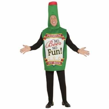 Bierfles kostuum voor volwassenen carnaval