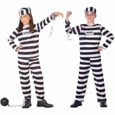 Boef/boeven verkleed pak/kostuum voor kinderen carnaval