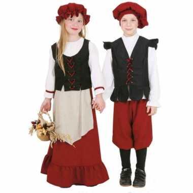 Boeren kostuum voor jongens carnaval