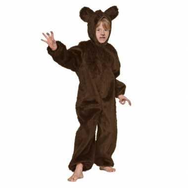 Bruine beren outfit voor kinderen carnaval