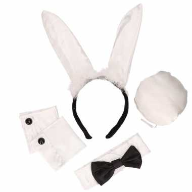 Bunny setje zwart wit