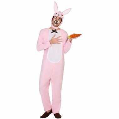 Carnaval dieren kostuum paashaas/konijn voor volwassenen