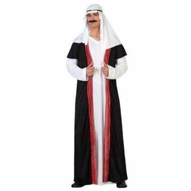Carnaval/feest arabische prins/sjeik verkleedoutfit voor heren