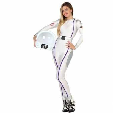 Carnaval/feest astronauten verkleed outfit voor dames