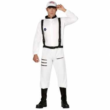 Carnaval/feest astronauten verkleed outfit voor heren