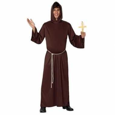 Carnaval/feest monnik verkleed outfit voor heren