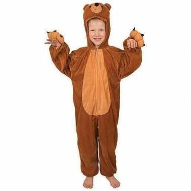 Carnavals kinder beren kostuum voor