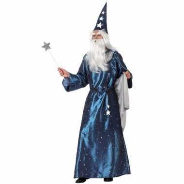 Carnavals kostuum tovenaar voor