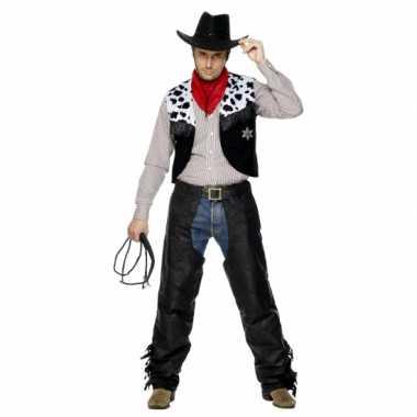 Carnavalskleding Cowboypak heren voor