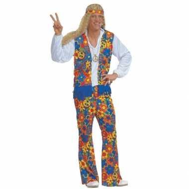 Carnavalskleding Hippie pak heren voor