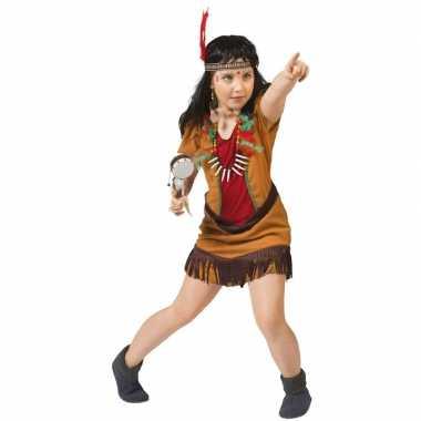 Carnavalskleding indianen jurkje voor meisjes
