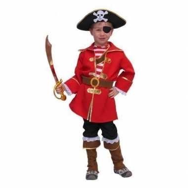 Carnavalskleding kapitein piraat voor