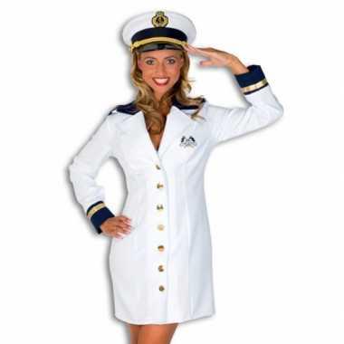 Carnavalskleding kapiteinspakje dames voor