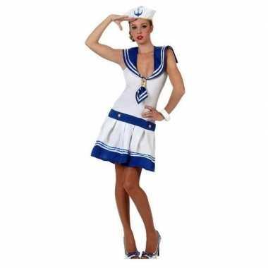 Carnavalskleding matroos voor dames