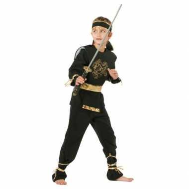Carnavalskleding Ninja kostuum kind voor