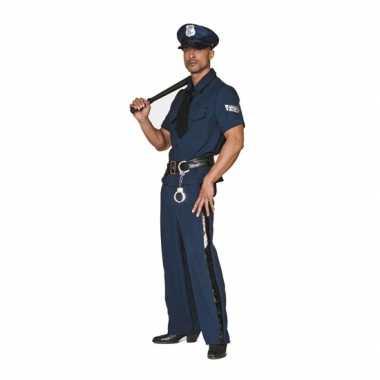 Carnavalskleding Politie pak big size voor