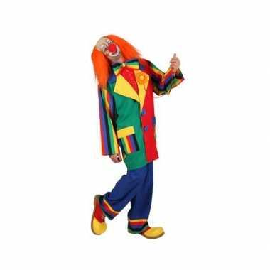 Carnavalskostuum clowns kostuum voor