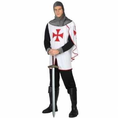 Carnavalskostuum middeleeuwse kruistocht ridder voor heren