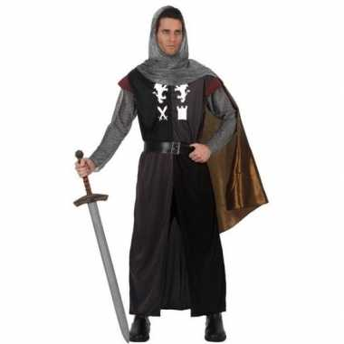 Carnavalskostuum middeleeuwse ridder voor heren
