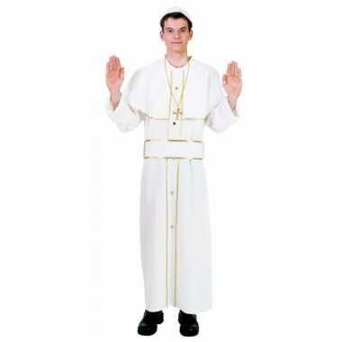 Carnvals kostuum Paus voor carnaval