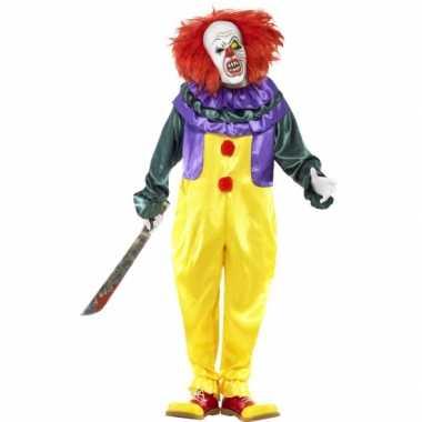 Clowns kostuum Halloween voor carnaval