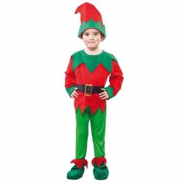 Compleet elfen kostuum voor peuters carnaval