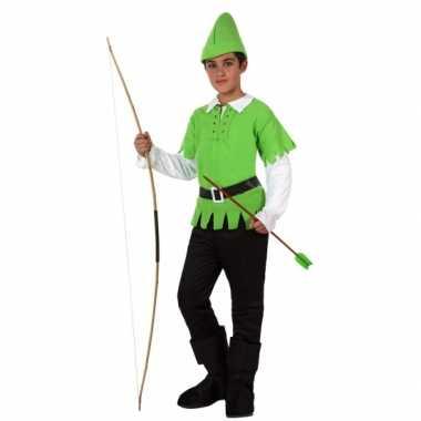 Compleet Robin Hood kostuum voor kinderen carnaval
