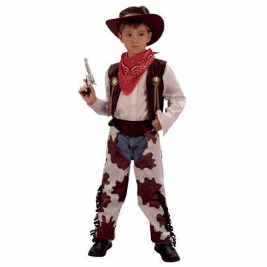 Cowboy koe outfit voor kinderen carnaval
