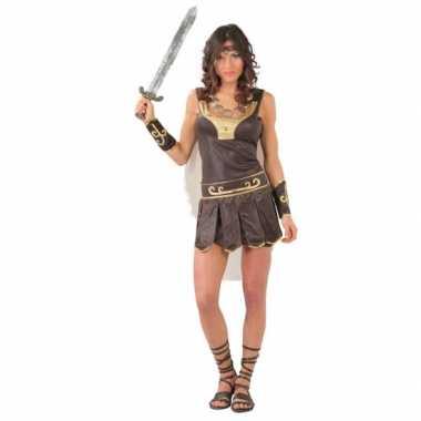 Dames gladiator carnavalskleding voor