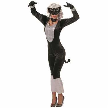 Dames verkleedkleding kat voor carnaval