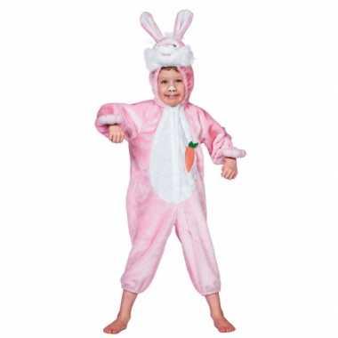 Dieren carnavalskleding konijn kind voor