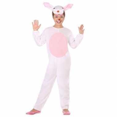 Dierenpak konijn/haas verkleed kostuum voor kinderen carnaval