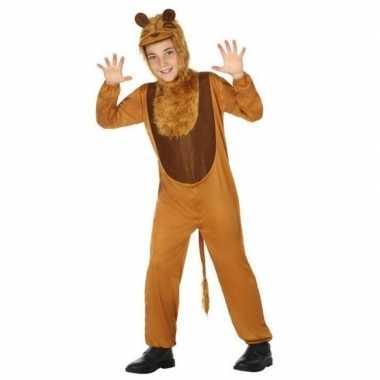 Dierenpak leeuw/leeuwen verkleed kostuum voor kinderen carnaval