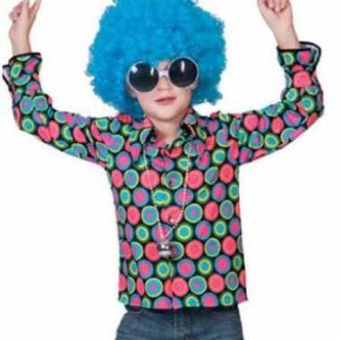Disco blouse voor kinderen carnaval