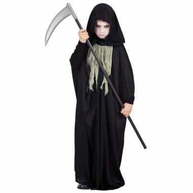 Donkere halloween cape voor kinderen carnaval