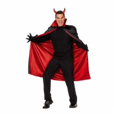 Duivels cape voor heren carnaval