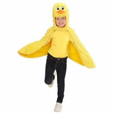 Eenden kostuum cape voor peuters carnaval