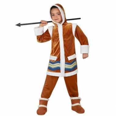 Eskimo kostuum voor jongens carnaval