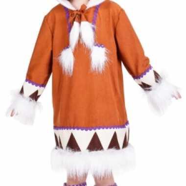 Eskimo kostuum voor meisjes carnaval