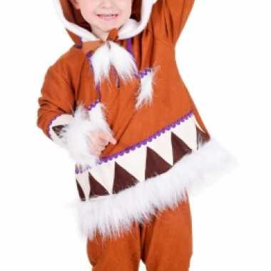 Eskimo pak voor jongens carnaval