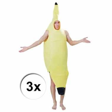 Feest groepskostuum bananentros voor carnaval