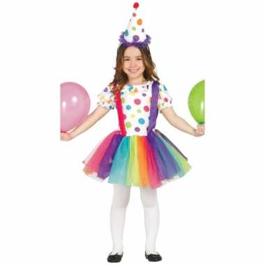 Feest kostuum clown voor carnaval