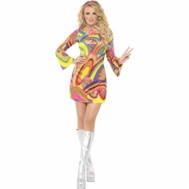 Flower Power kostuum dames voor carnaval